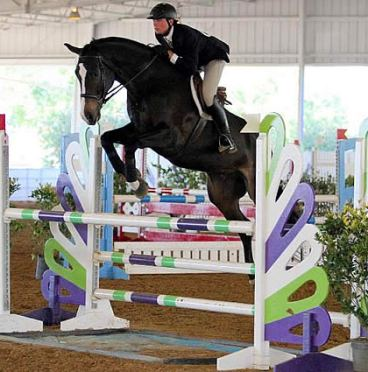 Geoffrey Hesslink Rides to Top of Leader Board in Both Phases of WIHS Equitation