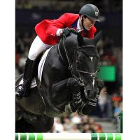 McLain Ward and Super Trooper De Ness (Rebecca Walton/Phelps Media Group)