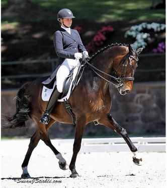 Adrienne Lyle Receives USEF Grant to Help Make Dreams Come True