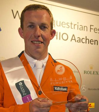 Gerco Schröder, Winner of the Furusiyya Rider of the Day Award at CHIO Aachen