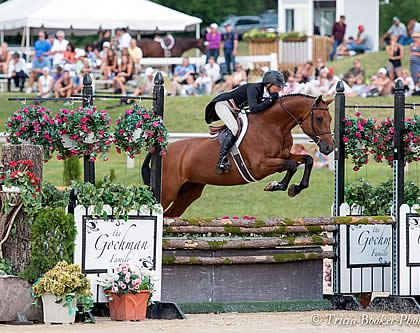 $20,000 USHJA International Hunter Derby Win Highlight of Successful Week for Molly Ashe