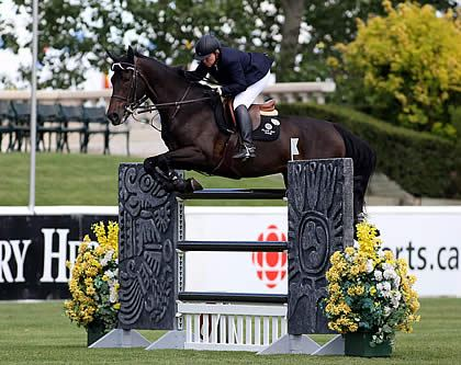 Katie Prudent and V Take Top Prize in $33,000 Friends of the Meadows Cup 1.60m