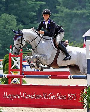 Katherine Strauss and Chellando Z Capture High Junior Jumper Win at Kentucky Summer Horse Show