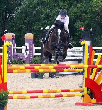Kelsey Thatcher and Balougris SL Z Bring Home the Blue in the $2,500 1.30m Open Jumpers