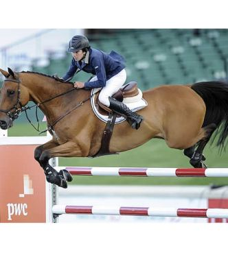 Lauren Tisbo Stays Clear to Win $35,000 PwC Cup 1.60m with Roundthorn Madios