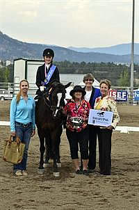 Dawson and Frederick Score National Titles at USEF Dressage Seat Medal Finals
