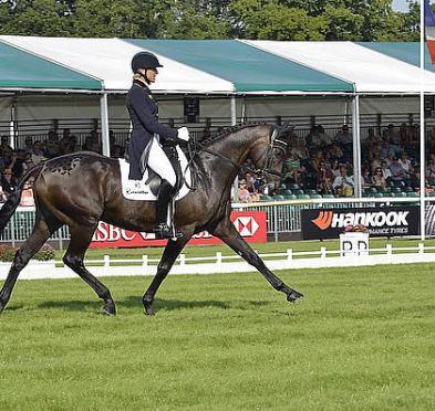 Klimke Makes Stunning Debut at Land Rover Burghley Horse Trials