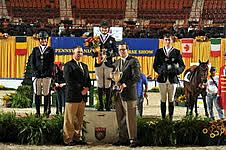 Lillie Keenan Achieves Gold in the Randolph College/USEF National Junior Jumper Individual Championship