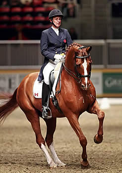 Diane Creech and Devon L Takes the $20,000 Royal Invitational Dressage Cup
