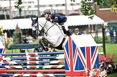 London 2012 Team Gold Medalist Rider Ben Maher Still World Number 1