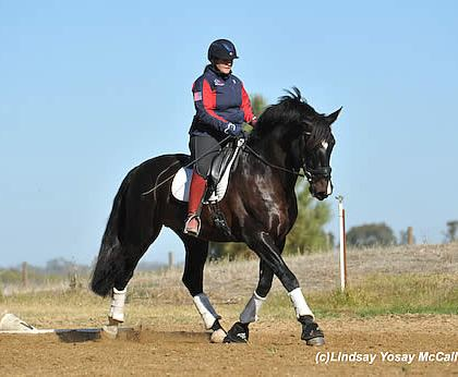Equestrians Impressed with Coaches Milkins and Callin at US Para-Dressage Symposium West Coast