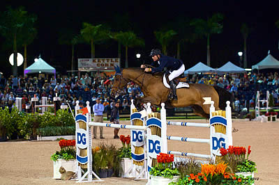 Charlie Jacobs and Flaming Star Win $50,000 Holiday & Horses CSI-W 2* Grand Prix