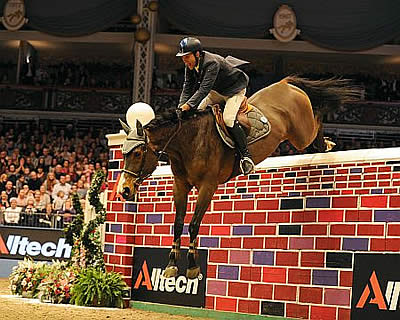 It's an Italian Job as Luca Leaps Puissance Wall at Olympia