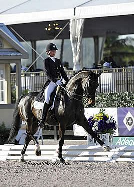 Adrienne Lyle and Wizard Are Best in FEI Grand Prix Special 4*