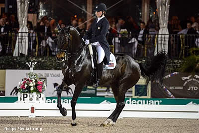 Nations Cup Gold Medalists Adrienne Lyle and Wizard Look Forward to World Cup Qualifiers