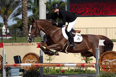Tiffany Foster and Daniel Deusser Share Victory in $34,000 Spy Coast Farm 1.45m at FTI WEF