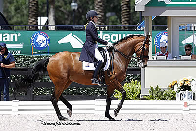 Tiva Nana and Ashley Holzer Triumph in FEI Grand Prix Special CDI 3* on Final Day of 2014 AGDF