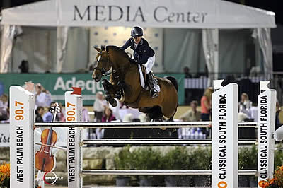 Lauren Hough and Böckmanns Lazio Lead the Way in $100,000 Engel & Völkers Grand Prix CSI 4*