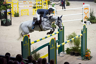 Kevin Staut Claims Victory in the Inaugural Rolex Grand Prix at Indoor Brabant