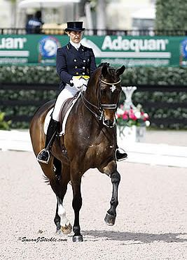 Tinne Vilhelmson-Silfven Returns to AGDF to Win Palm Beach Dressage Derby FEI Grand Prix