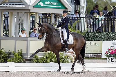 Vilhelmson-Silfven Wins Again in FEI Grand Prix Special at AGDF Palm Beach Dressage Derby CDI W