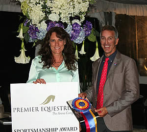Premier Equestrian Recognizes Robert Dover with Sportsmanship Award