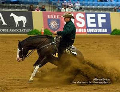 Flarida Captures Early Lead in USEF Open Reining Nat'l Championship & Selection Trial for WEG U.S. Reining Squad