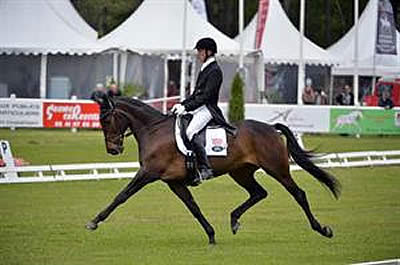 US Sends Two in the Top 10 Following Dressage at Saumur CCI3*