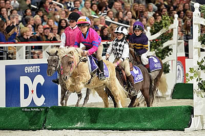 2014 WIHS Shetland Pony Steeplechase Championship Series Debuts at the Devon Horse Show