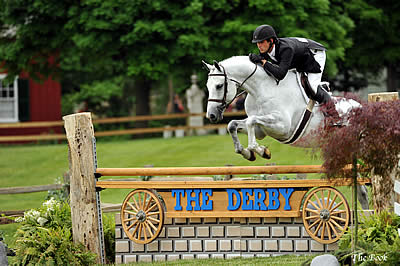 Evan Coluccio and Fabled Inaugural Winners of $35,000 International Derby at Genesee Country Village & Museum
