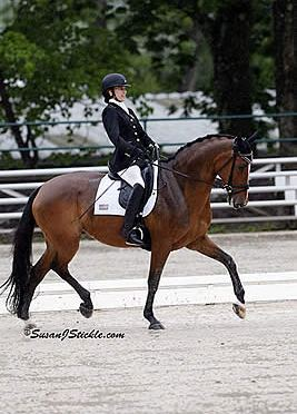 Rebecca Hart Earns Sixth USEF Para-Equestrian Dressage National Championship