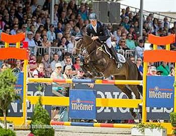 Martin and Shamwari 4 Jump to Third Place at Luhmühlen CCI4*