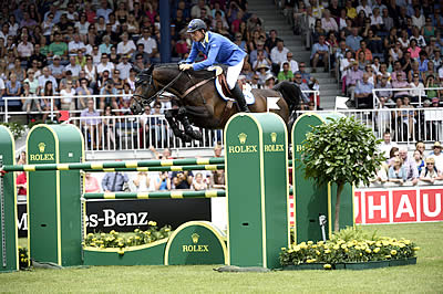 Christian Ahlmann Faultless in His First Rolex Grand Prix Victory at CHIO Aachen