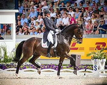 Lyle and Graves Finish Equal Tenth in Deutsche Bank Prize at CDIO5* Aachen