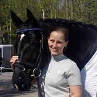 Amy McIlwham and Wentworth. Photo Courtesy of Amy McIlwham