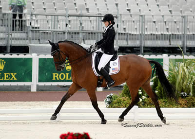 Top-15 Finishes for First Two U.S. Para-Equestrian Dressage Competitors at WEG
