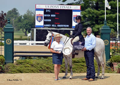 Hudson and Smitten Earn Championship Titles at Day Two of 2014 US Pony Finals