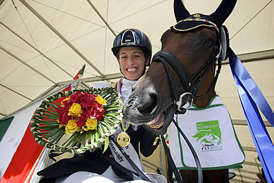 Sara Morganti Voted Paralympic Athlete of the Month