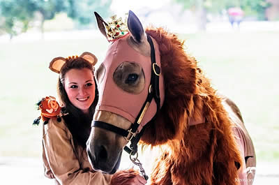Halloween Show Brings Frights and Delights to Kentucky Horse Park