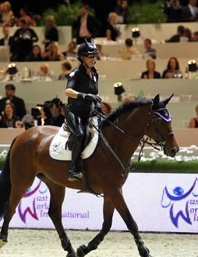 Hannah Selleck and Laura Kraut Win Longines L.A. Masters Charity Class for JustWorld in Style
