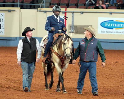 Para-Reining Returns to AQHA World Championship Show