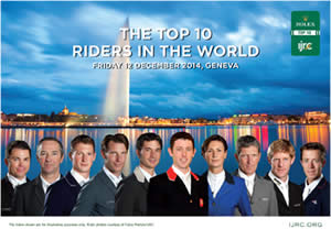 World's Finest Riders Gather in Geneva for End of Season Finale – The Rolex IJRC Top 10 Final