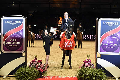 Marco Kutscher and Cristallo Shine Brightly in Longines World Cup at Olympia