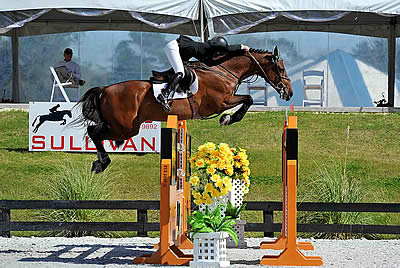 Rocky W and Kaitlin Campbell Victorious in HITS Ocala $25,000 SmartPak Grand Prix