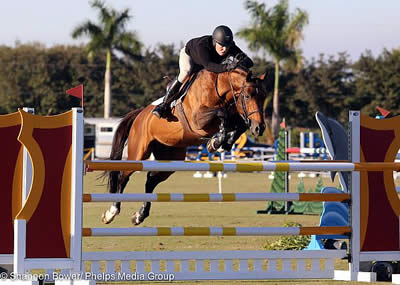 Sharn Wordley Shines at Wellington Turf Tour Winning Both 1.30-1.35m Jumper Classes