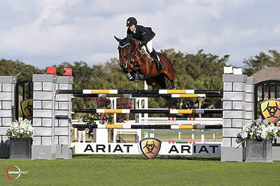 Brianne Goutal and Ballade van het Indihof Win $127,000 Ariat Grand Prix CSI 3*