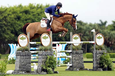Conor Swail Takes 1.40m Grand Prix Victory with Martha Louise at Wellington Turf Tour