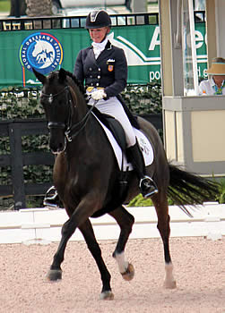 Katherine Bateson-Chandler and Alcazar Claim FEI Grand Prix Special Victory