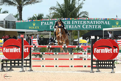 Lisa Goldman and Morocco Race to Victory in $34,000 1.45m to Start WEF 10