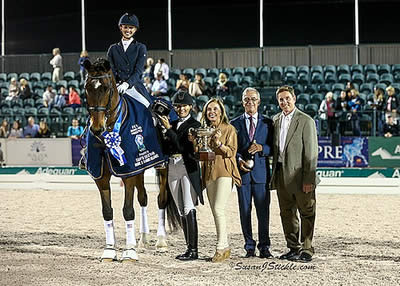 Laura Graves and Verdades Impress with Another Win in AGDF 10 FEI Grand Prix Freestyle